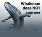 Whaleman does NOT approve!